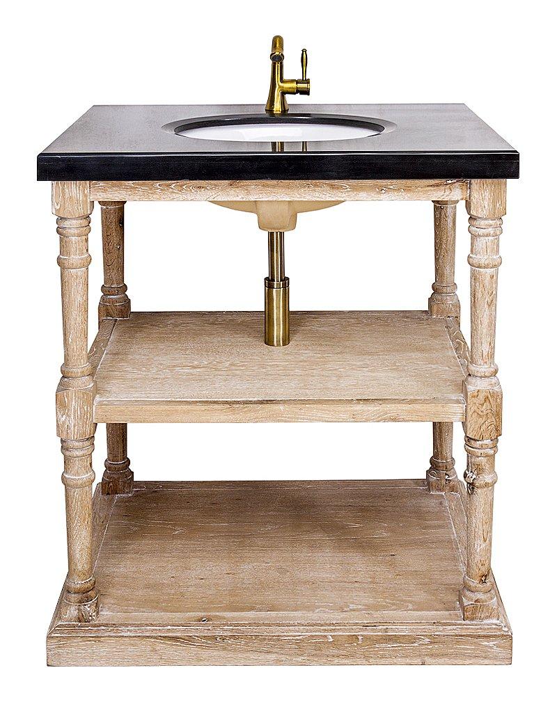 Купить Тумба с раковиной Маделан (черная) в интернет магазине дизайнерской мебели и аксессуаров для дома и дачи