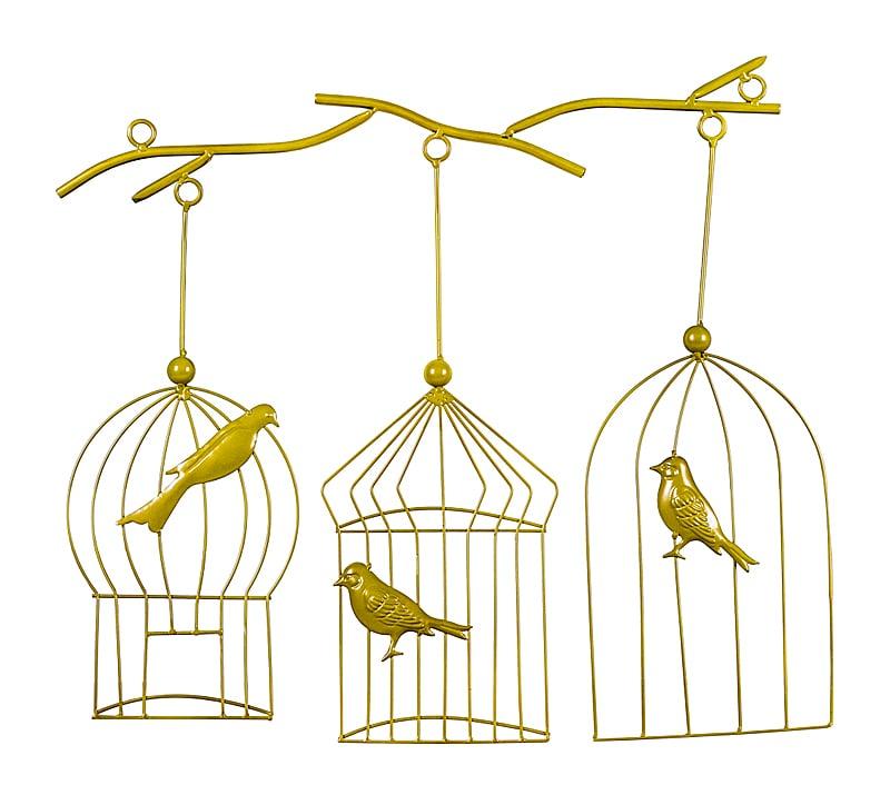 Арт-декор Райские птицы, OM-D20  Интерьерная инсталляция