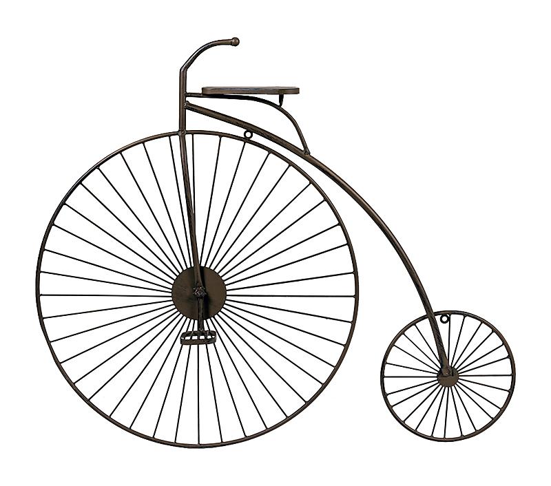 Арт-декор Увлекательное путешествие, OM-D21  Изобретение велосипеда может оказаться  порой не только увлекательным, но и полезным  занятием. Цель любой интерьерного изобретения  - это удивление. С этой миссией двухколесная  арт-инсталляция
