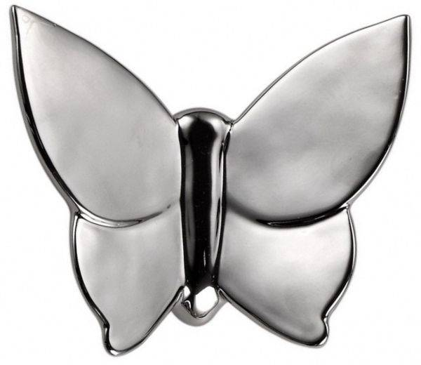Декоративная бабочка Butterly 10*5*12 (серебристая)