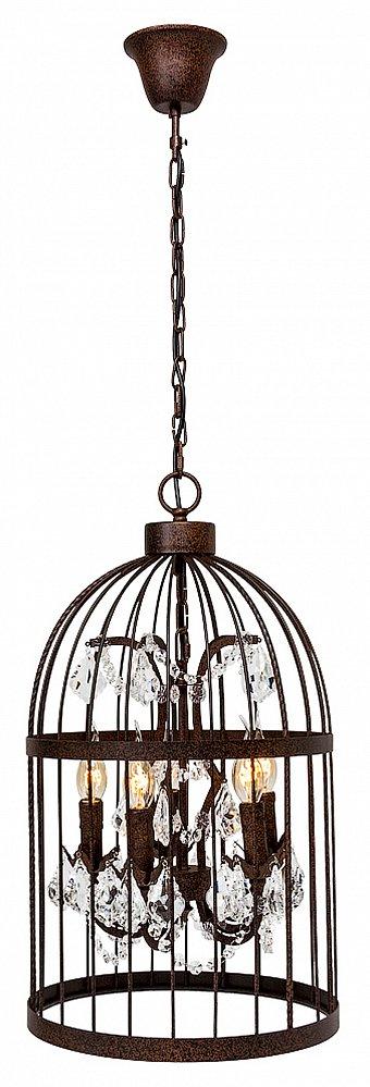 Люстра Тюильри (черный антик), OM-LL01  Для создания праздничной декорации в Вашей  гостиной уместна металлическая люстра  «Тюильри». Этот светильник с пятью «подсвечниками»  и хрустальными подвесками будет во всех  смыслах освещать Ваш дом. Шикарная люстра  прекрасно впишется в интерьер классического  стиля. Если Вы — поклонник романтических  настроений, предлагаем взглянуть на ту  же модель в белом цвете. Длина подвесной  цепи: 53 см