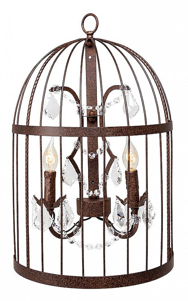Настенный светильник Тюильри (черный антик),  OM-WL01  Настенная лампа «Тюильри» — яркая стилистическая  мишень в Вашем интерьере. Завораживающий  округлый дизайн придает помещению имидж  плавности и легкости. Металлический настенный  светильник с эффектом старины украшен двумя  подсвечниками и хрустальными подвесками-каплями.  Аналогичная модель представлена также  и в белом цвете.