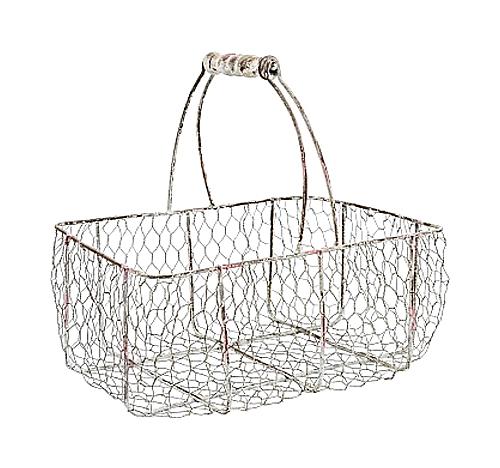 Купить Корзина металлическая Шенонсо Большая в интернет магазине дизайнерской мебели и аксессуаров для дома и дачи