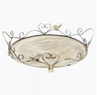 Купить Поднос десертный Розмари Большой в интернет магазине дизайнерской мебели и аксессуаров для дома и дачи