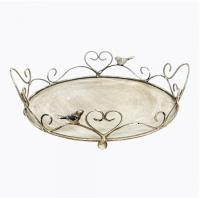 Купить Поднос десертный Розмари Средний в интернет магазине дизайнерской мебели и аксессуаров для дома и дачи