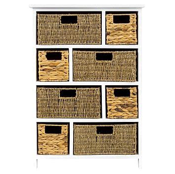 Купить Стеллаж с корзинами Берже в интернет магазине дизайнерской мебели и аксессуаров для дома и дачи