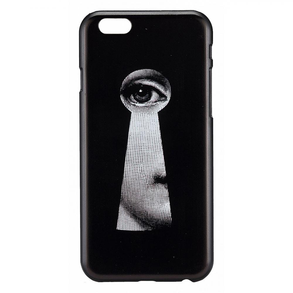 Чехол для iPhone 5/5S Пьеро Форназетти Keyhole , Декор для дома<br>Чехол для iPhone 5/5S<br><br>Цвет: черный<br>Материал: Пластик<br>Вес кг: 0.5<br>Длинна см: 25<br>Ширина см: 16<br>Высота см: 12