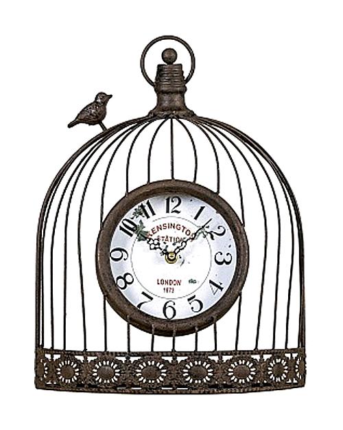 Часы настенные Волшебный сад черный антик, OM-PL154
