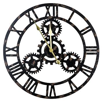 Часы настенные Индастри - Ночь, OM-PL158
