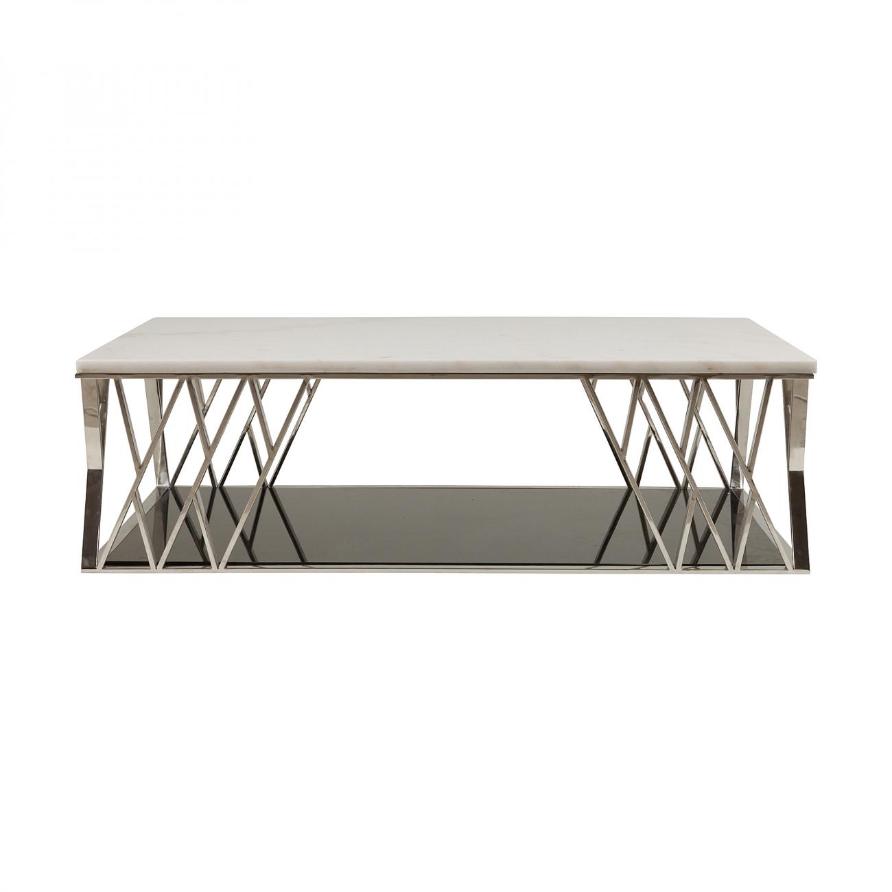 Купить Журнальный столик Satta Белый в интернет магазине дизайнерской мебели и аксессуаров для дома и дачи
