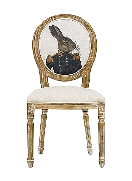 Купить Стул Мистер Заяц Лайт в интернет магазине дизайнерской мебели и аксессуаров для дома и дачи