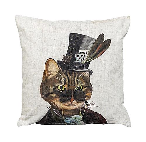 Декоративная подушка Мистер Кот, OM-T-PL02