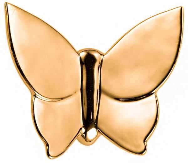 Декоративная бабочка Butterly (золотая), MH-D-08