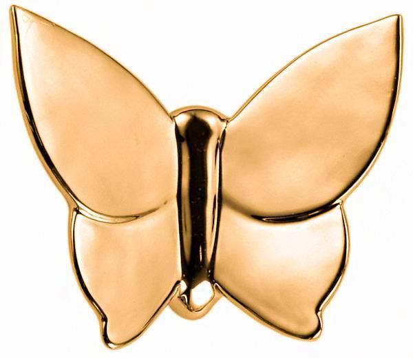 Декоративная бабочка Butterly (золотая), MH-D-09