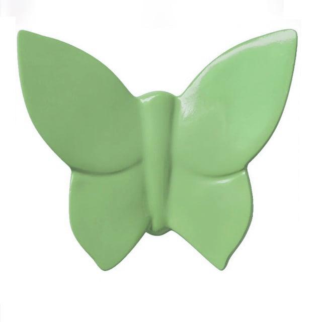 Декоративная бабочка Butterfly (зелёная) 10*12