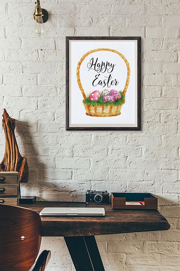 Постер Праздник Пасхи А3
