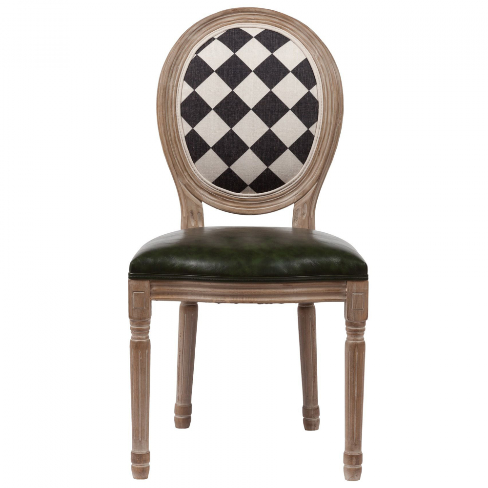 Стул Checkers шахматная спинка
