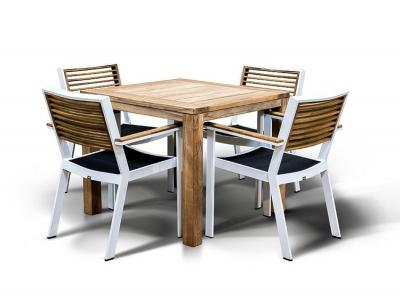Купить Обеденная группа Паула в интернет магазине дизайнерской мебели и аксессуаров для дома и дачи