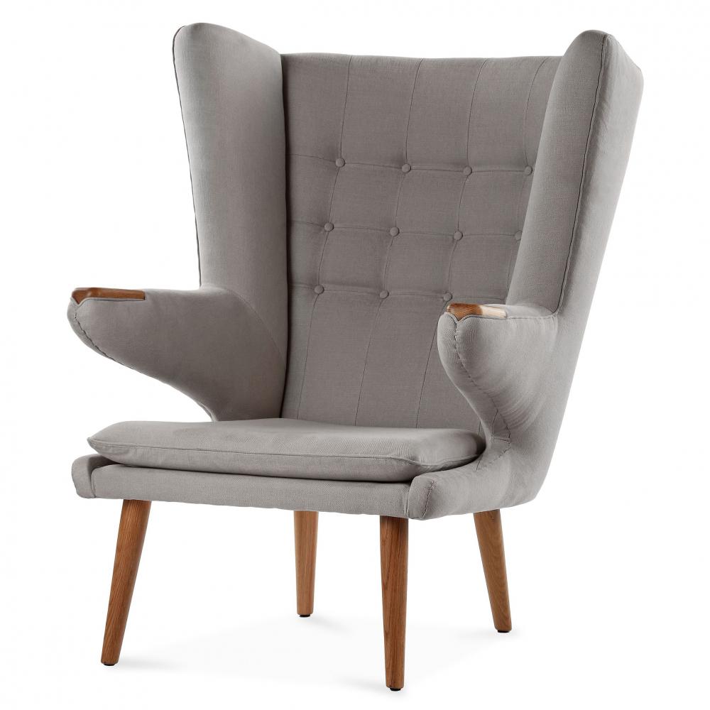 Кресло Papa Bear (светло-серый), DG-F-ACH495-1