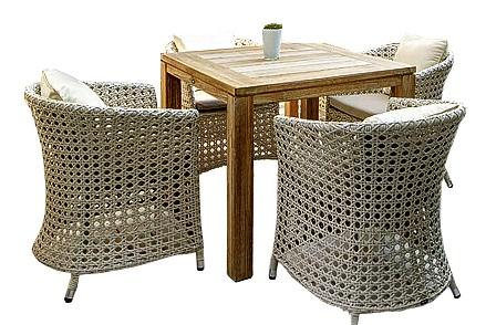 Купить Обеденная группа Верчели в интернет магазине дизайнерской мебели и аксессуаров для дома и дачи