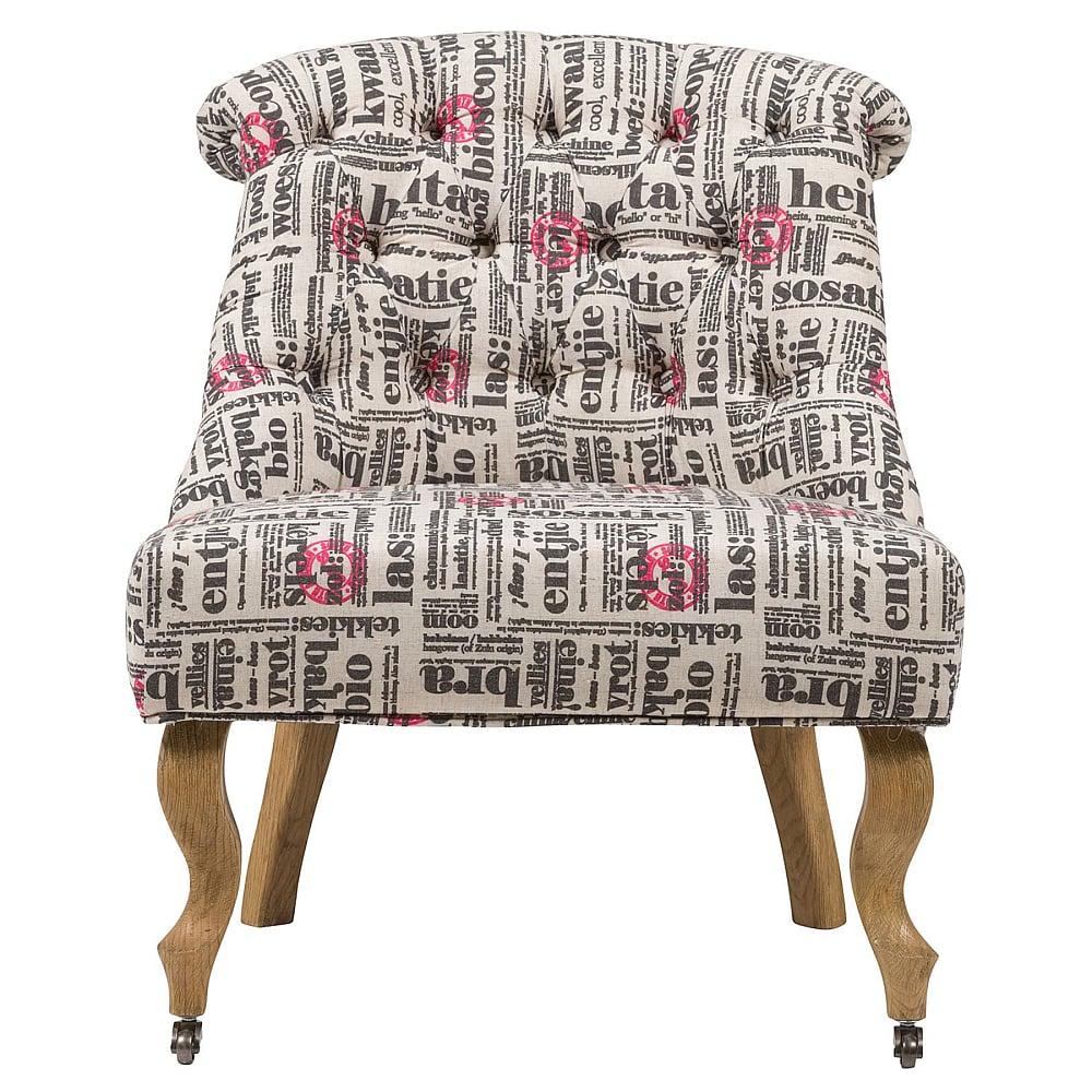 Кресло Amelie French Country Chair Надписи, DG-F-ACH496-1