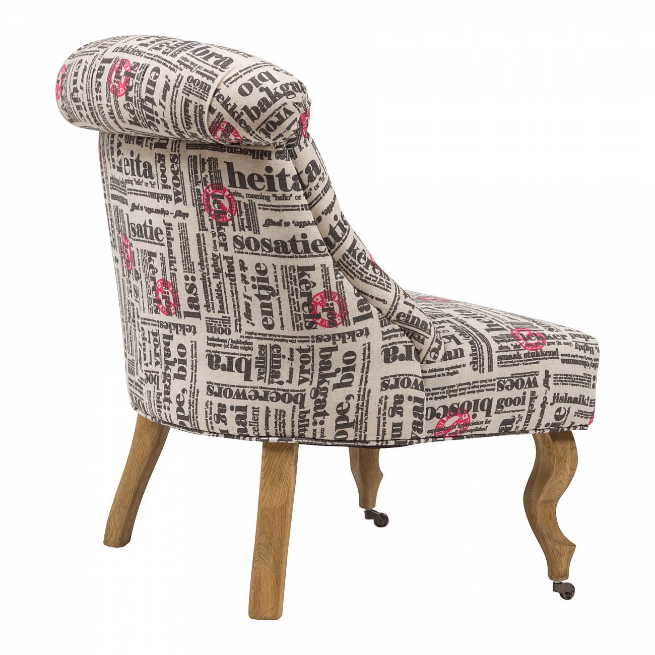 Кресло Amelie French Country Chair Надписи
