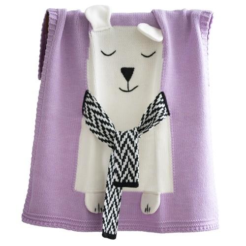 Купить Плед розовый Мишка малый в интернет магазине дизайнерской мебели и аксессуаров для дома и дачи