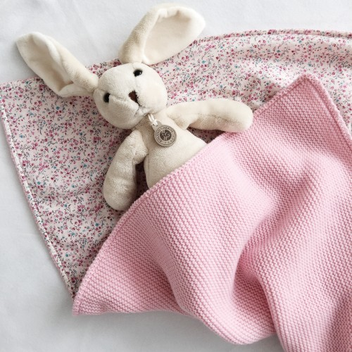 Плед розовый Milana
