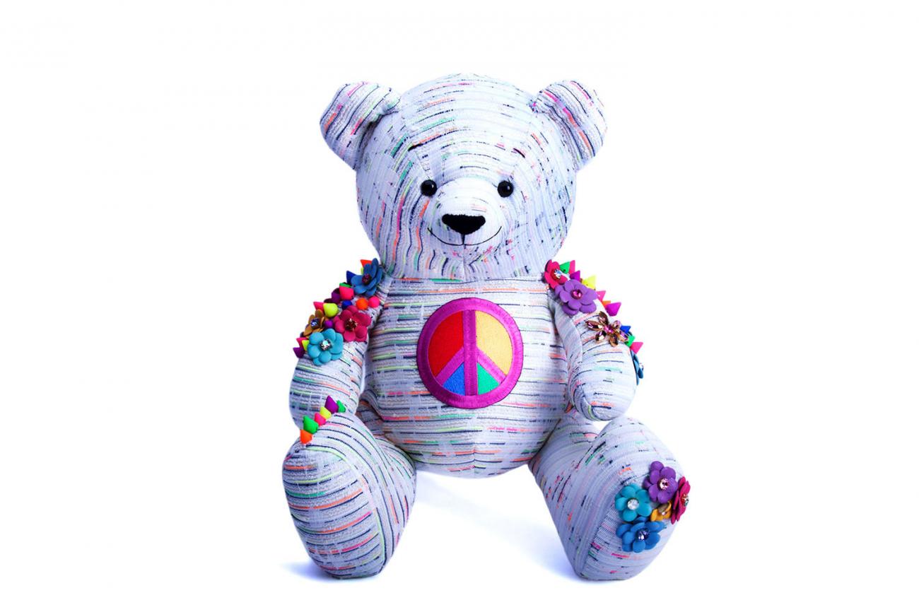 Купить Мягкая игрушка За мир и дружбу в интернет магазине дизайнерской мебели и аксессуаров для дома и дачи