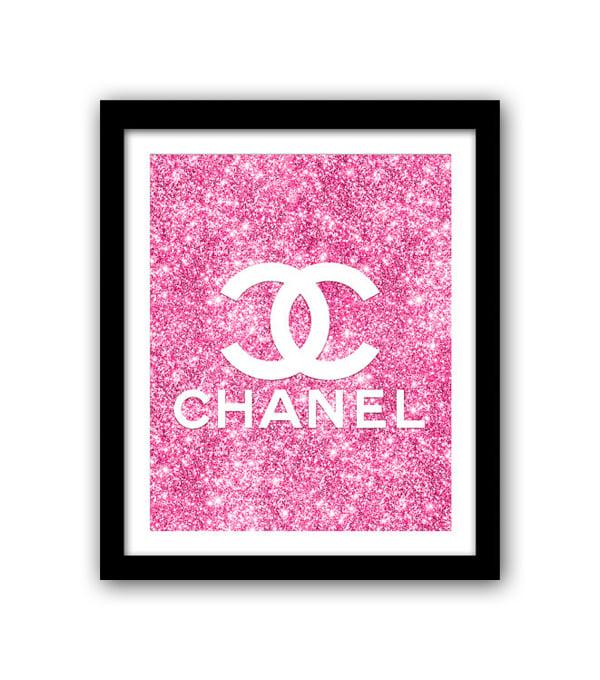 Постер Chanel Glamour А4