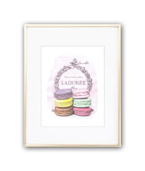 Постер Laduree sweet А4