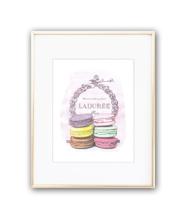 Постер Laduree sweet А4, DG-D-PR358