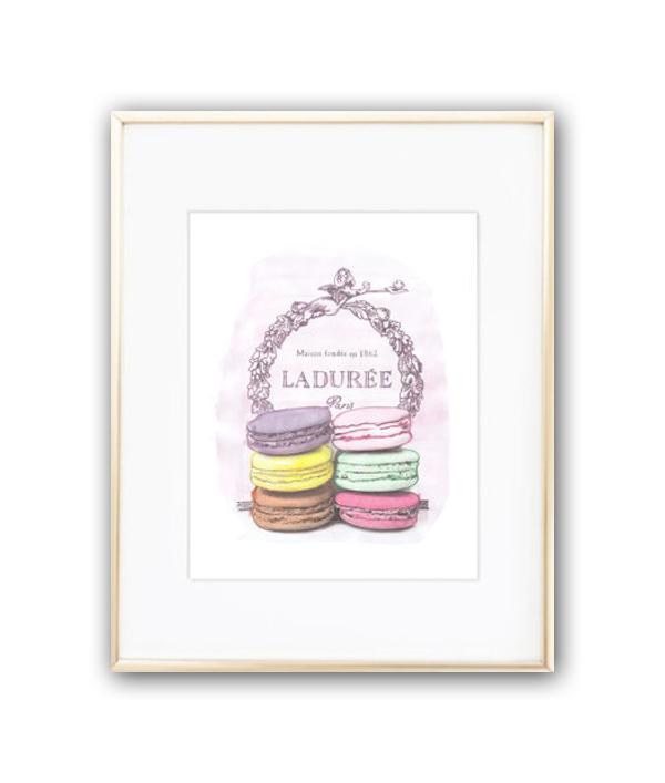 Купить Постер Laduree sweet А4 в интернет магазине дизайнерской мебели и аксессуаров для дома и дачи
