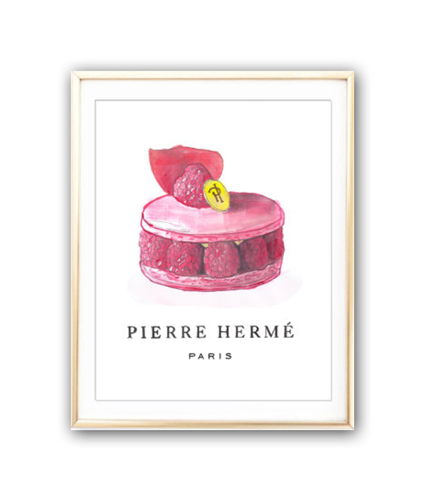 Постер Pierre Herme sweet А4, DG-D-PR360