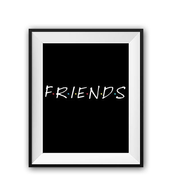 Постер Friends А4