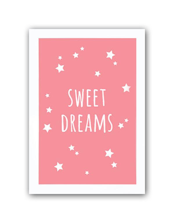 Фото Постер Sweet dreams girls А3. Купить с доставкой