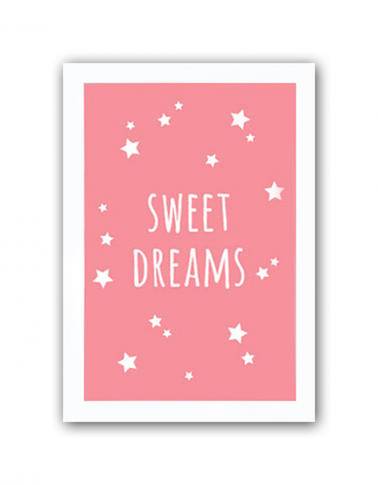 Постер Sweet dreams girls А4, DG-D-PR446