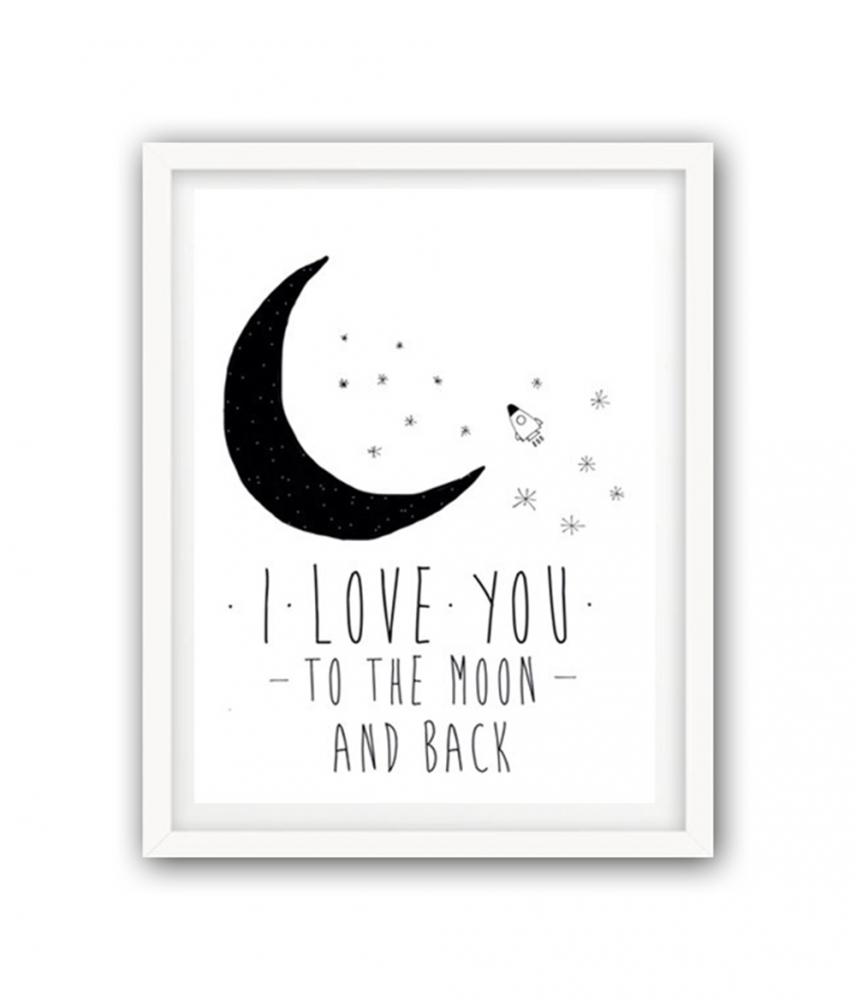 Фото Постер К луне и обратно А3. Купить с доставкой