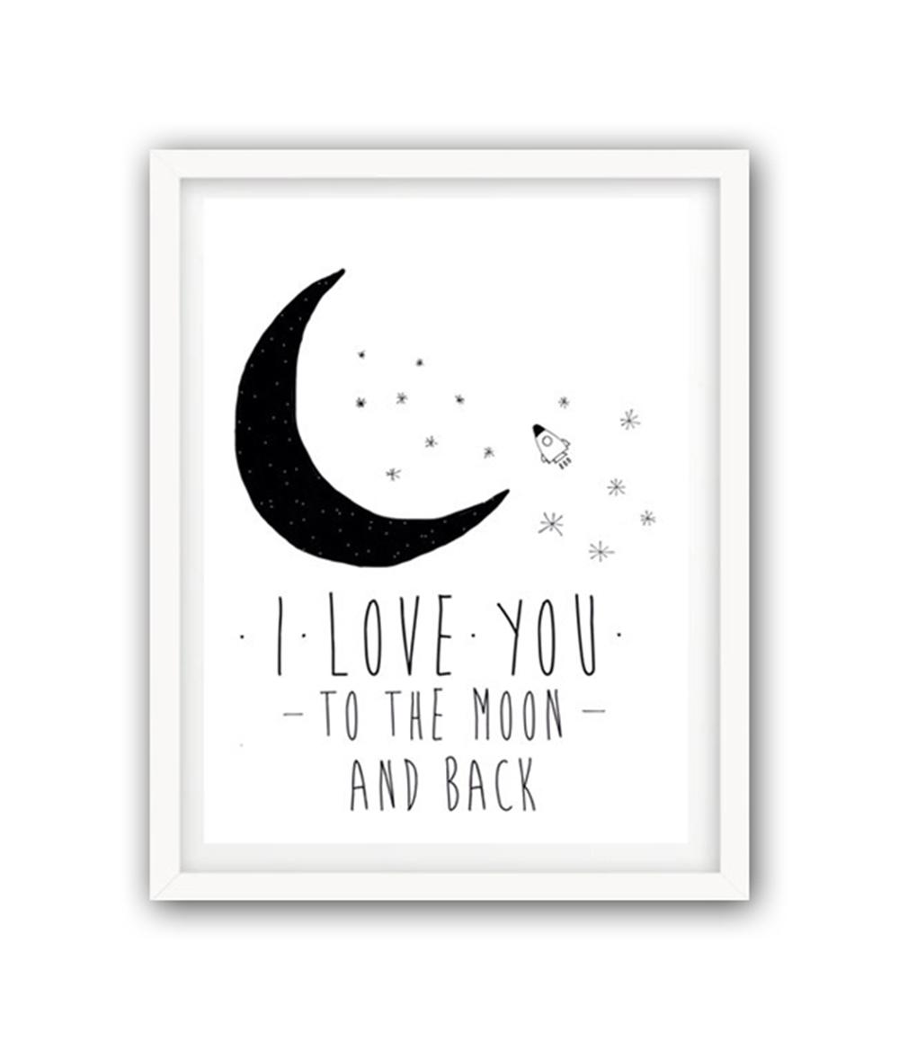 Купить Постер К луне и обратно А4 в интернет магазине дизайнерской мебели и аксессуаров для дома и дачи