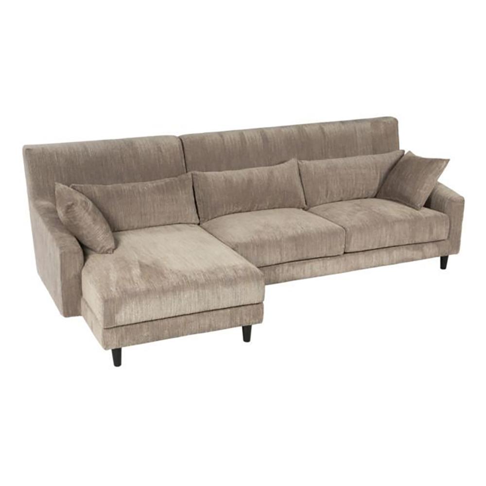 Диван Reykjavik S6024B/corner sofa/DOLAM-18 (Reykjavik), 01272  При внешней простоте и скромности этого  дивана, он обладает тщательно продуманной  эргономичностью и комфортом. Мягкие, глубокие  сидения дополнены удобными подушками, что  делает его уютным местом времяпрепровождения  для всей семьи. Прочная анти-статичная обивочная  ткань спокойного тона не обязывает к определенному  стилю, поэтому Вы сможете поместить Reykjavik  в любой современный интерьер от футуристического  Хай-тека до актуального сейчас Эко-стиля.