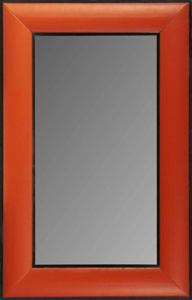 Зеркало HA12066 (WOOD, CROCODILE LEATHER & MIRROR), 00484