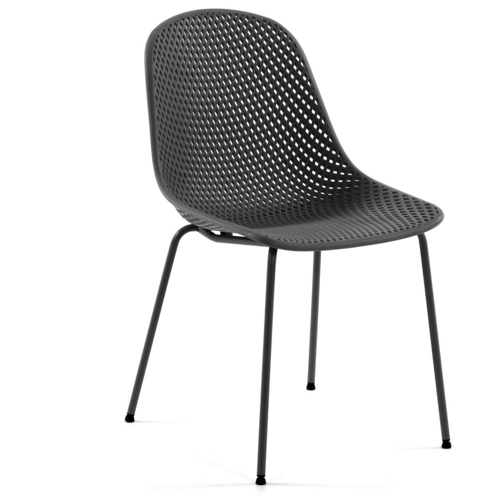 Кресло Quinby темно-серое от La Forma - купить за 10990 руб. в интернет-магазине DG-Home
