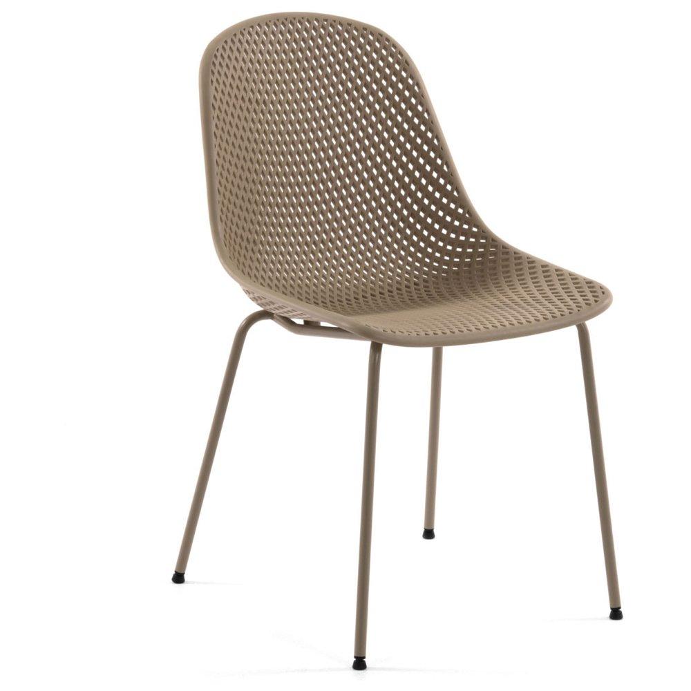 Кресло Quinby бежевое от La Forma - купить за 10990 руб. в интернет-магазине DG-Home