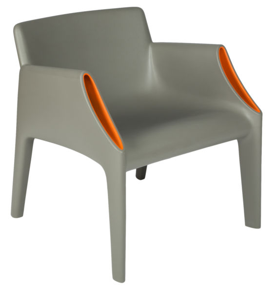 Кресло Magic Hole - Grey-orange / 6046 (Magic Hole), 05152