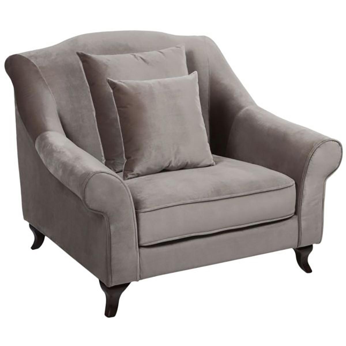 Купить Кресло Prime Minister velvet pale brown в интернет магазине дизайнерской мебели и аксессуаров для дома и дачи