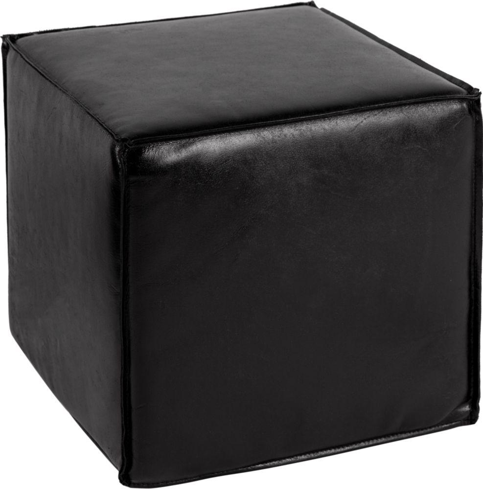 Купить Пуф Ottoman small black в интернет магазине дизайнерской мебели и аксессуаров для дома и дачи