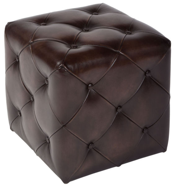Пуф Ottoman tufted small / Gun metal (Ottoman tufted small), 05937