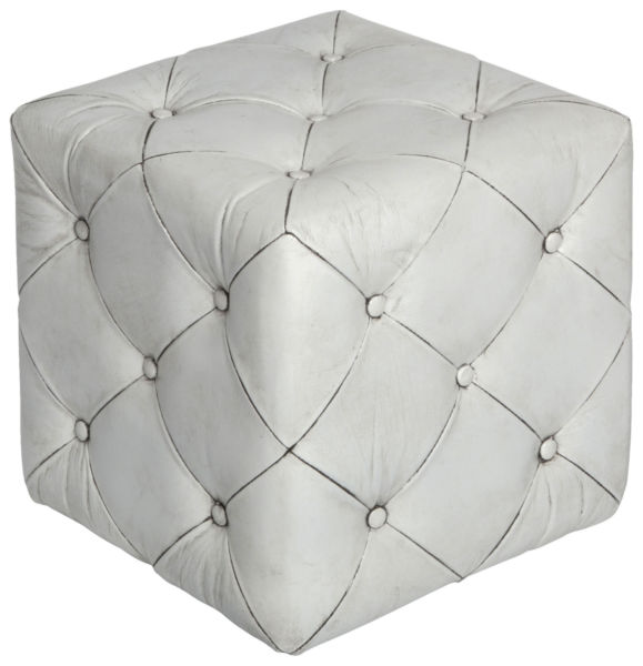 Пуф Ottoman tufted small / Antique white (Ottoman tufted small), 07600