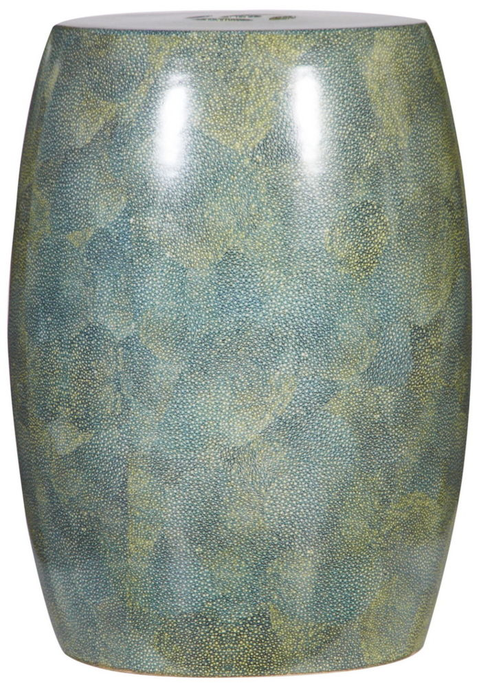 Купить Керамический столик-табурет Garden Stool оливковый в интернет магазине дизайнерской мебели и аксессуаров для дома и дачи
