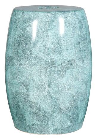 Купить Керамический столик-табурет Garden Stool Голубой в интернет магазине дизайнерской мебели и аксессуаров для дома и дачи
